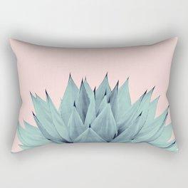 Agave Blush Summer Vibes #1 #tropical #decor #art #society6 Rectangular Pillow