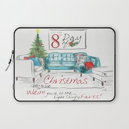EIGHTH DAY OF CHRISTMAS WEIMS Laptop Sleeve