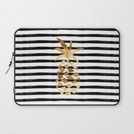 Pineapple & Stripes Laptop Sleeve