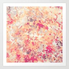 Acid Camouflage Art Print