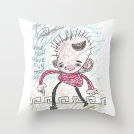 Hang Out Have Fun Hook Up Throw Pillow