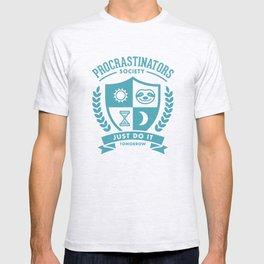 Procrastinators Society T-shirt