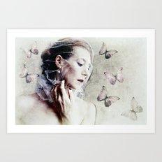 Les Papillons Art Print