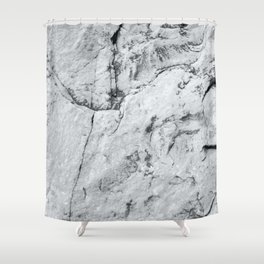 Old Stone Wall VI Shower Curtain