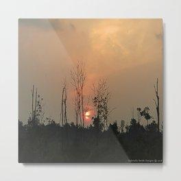 Sunset Days Metal Print