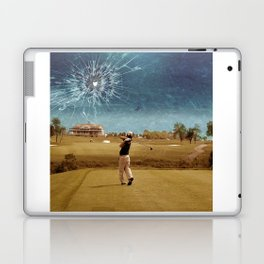 Broken Glass Sky Laptop & iPad Skin