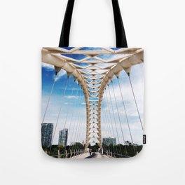 Humber Bay Park Bridge Tote Bag
