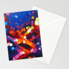 Abstract painting - Carl Soete Stationery Cards