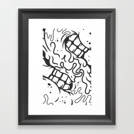 S is for Smile Framed Art Print