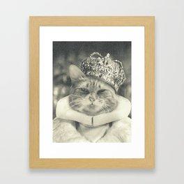 King Calvin Framed Art Print