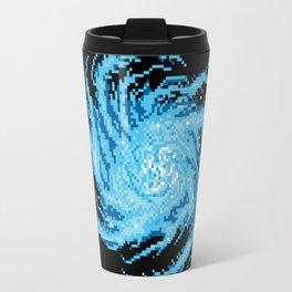 Pixel Galaxy Travel Mug