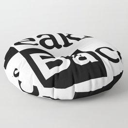 Breaking Bad Logo - Breakfast, eggs,bacon- Heisenberg - TV Floor Pillow