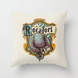 HP Rocafort House Crest Throw Pillow