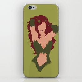 Poison Ivy iPhone Skin