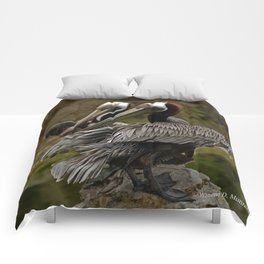 Brown Pelican Comforters