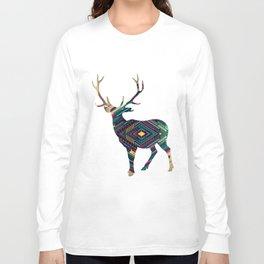 Deer abstract Long Sleeve T-shirt