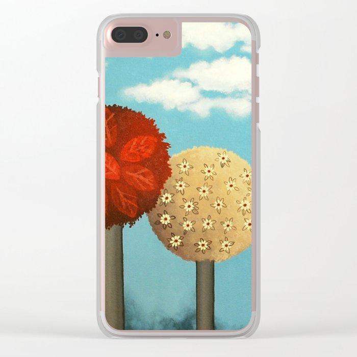 Dream grove Clear iPhone Case