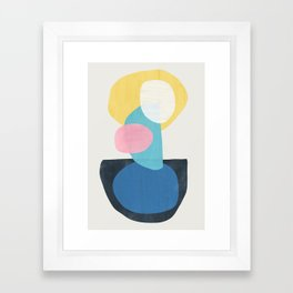 Shapes Abstract 16 Framed Art Print