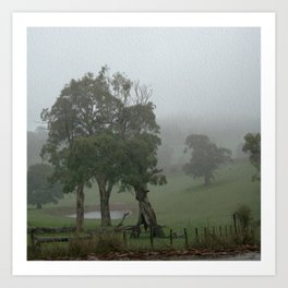 Mist of Oz Art Print