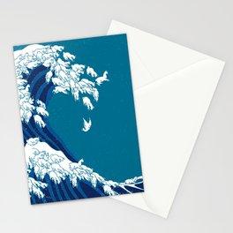 Waves Llama Stationery Cards
