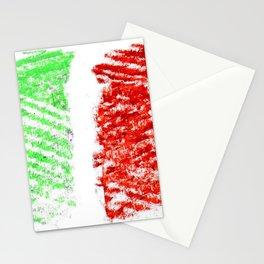 flag of Italia chalk 2- Italy,Italia,Italian,Latine,Roma,venezia,venice,mediterreanean,Genoa,firenze Stationery Cards