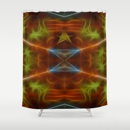Tarot card V - The Hierophant Shower Curtain