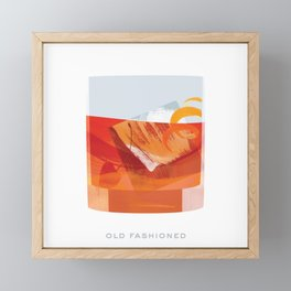 Cocktail Hour: Old Fashioned Framed Mini Art Print