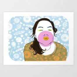 Sugarlips Art Print