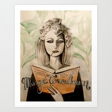 Margot Tenenbaum Art Print