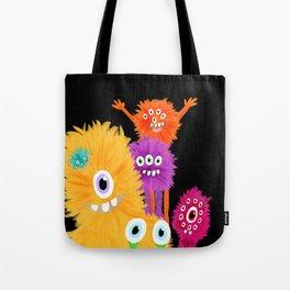 Hooray! Little Monsters Tote Bag