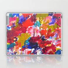 Floral Drip Laptop & iPad Skin
