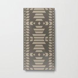 American Native Pattern No. 394 Metal Print