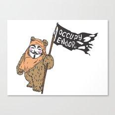 Occupy Endor Canvas Print