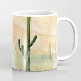 Desert Sunset Landscape Coffee Mug