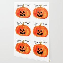 Trick or Treat Jack-O-Lantern, Halloween Pumpkin Wallpaper