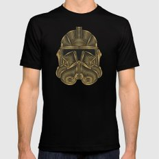 Star . Wars - Clone Trooper Black Mens Fitted Tee MEDIUM