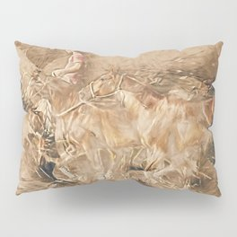 Abstract master of the horse Pillow Sham