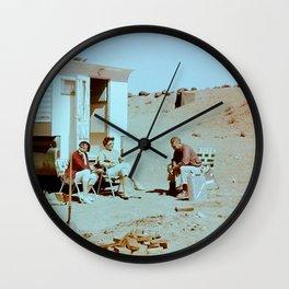 Dustbowl Camping Wall Clock