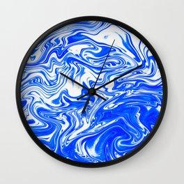 Marbled XX Wall Clock