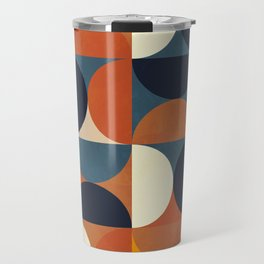 mid century abstract shapes fall winter 1 Travel Mug