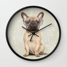 Mr French Bulldog Wall Clock