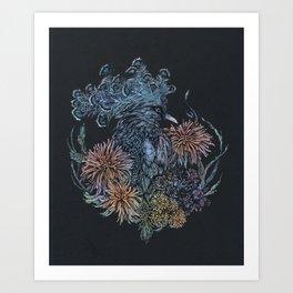 Pigeon lullaby Art Print