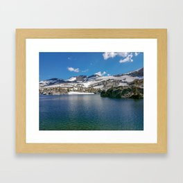 Fontanillis Lake Framed Art Print