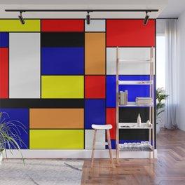 Mondrian #1 Wall Mural