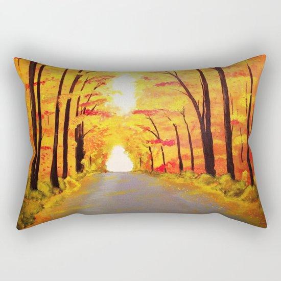 Autumn Lane Rectangular Pillow