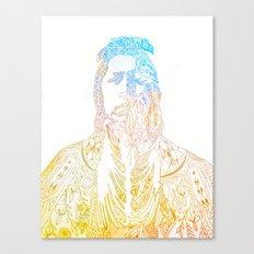 motif of a portrait II Canvas Print