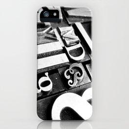Metalpress iPhone Case