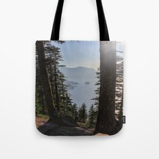 Phantom Ship Island Tote Bag