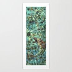 Flyfishing_1 Art Print