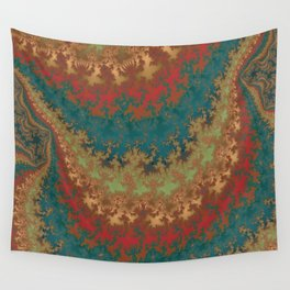 Fractal Layers Wall Tapestry